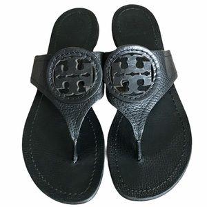 Tory Burch Miller Sandals Black